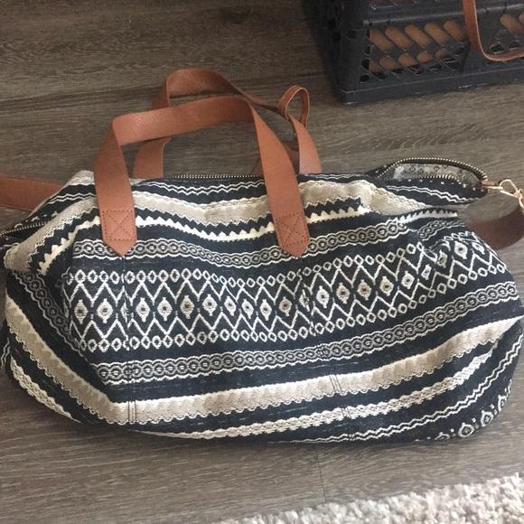 656253264fc3 JustFab Weekender Bag